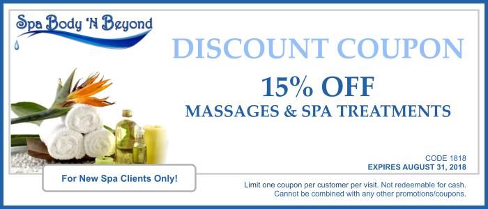 SBNB Coupon for Retail Spa Customers