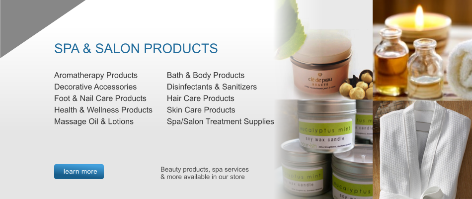 Spa & Salon Products